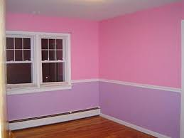 Girls pink and purple bedroom