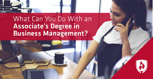 What Can You Do With An Associates Degree In Business Management