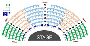 American Players Theater Seating Chart Diego Civic Theater Online Charts Collection