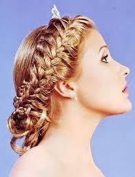 Как плести колосок самой себе фото  Необычный колосок на волосах