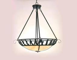 cabin chandelier