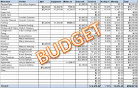 Simple Budget Plan First Time Builder How To Prepare A Simple Budget Plan