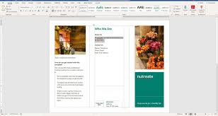 How To Make Your Own Brochure On Microsoft Word How To Make A Brochure On Microsoft Word