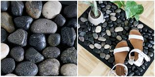 how to make a river stone bath mat for your shower easy diy stone bath mat