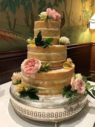 Lemon Drizzle Naked Cake Decorated With Lily Lous Cakes Facebook
