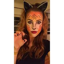 tiger woman makeup