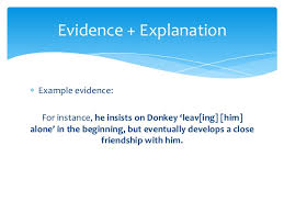 peel structure for literature essays 9 evidence explanation
