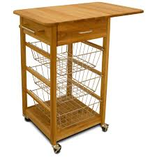 kitchen island cart trolley with drawers roll away seville