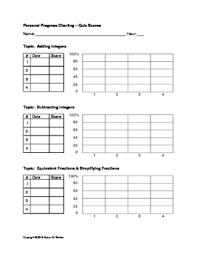 skills tracking sheet students skills standards progress self tracking sheet by math is