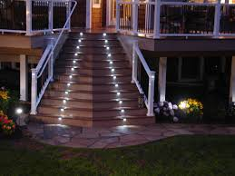 image of outdoor stair lighting patio