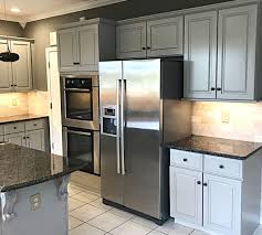 Grey Kitchen Cabinets Project Gallery Examples Classic Refinishers