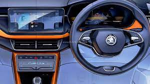 Skoda kushaq is available in manual transmission only. Skoda Kushaq Suv Interior Sketch Officially Announced India News Republic
