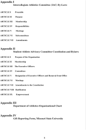 Missouri State University Policy And Procedures Manual Pdf