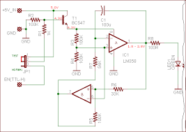 electronics projects circuits breathing led sleep indicator for microcontroller projects