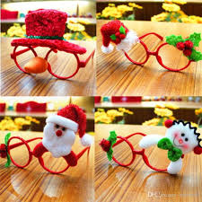 Christmas Photo Frames For Kids Christmas Ornaments Glasses Frames Decor Evening Party Toy Kids Rabbit Gifts