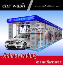 Car Wash Tunnel Design Hot Item China Tx 380af Quality Automatic Tunnel Car Wash Machine With Ce Iso Ul Certifications