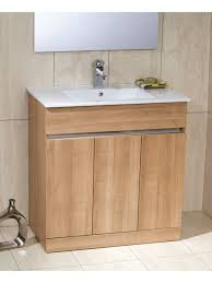 Athens Oak 80cm Vanity Unit - Toledo & Basin