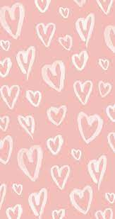 Pastel Pink Hearts Wallpapers - Top ...