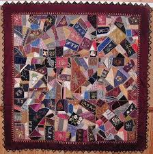 277 best Antique Crazy Quilts images on Pinterest | Embroidery ... & Victorian crazy quilt, circa 1870 Adamdwight.com