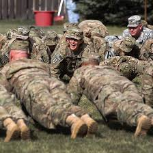 pushups are a basic ponent of the u s army s fitness program