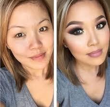 makeup before and after. makeup before and after t