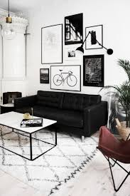 Modern Black Living Room Furniture 25 Best Ideas About Black Sofa Decor On Pinterest Black Sofa