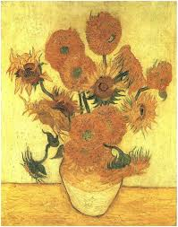 image only van gogh still life vase with fifteen sunflowers