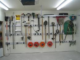 garage interior. Rails Keep Storage Space To A Minimum, Leaving More Parking Space. Great For One Garage Interior S