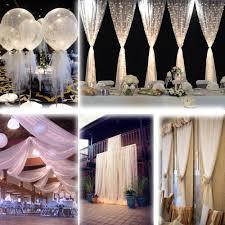 Tulle Fabric Wedding Decorations Popular Pew Decorations Wedding Buy Cheap Pew Decorations Wedding