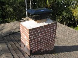 chimney cap with spark arrestor design
