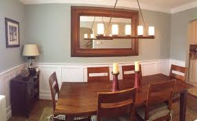 inspiration of dining room paint colors with chair rail