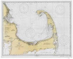 Cape Cod Chart Cape Cod Bay 1933 80000 At Chart 1208