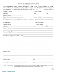 031 20fire Incident Report Form Pdf Format Word Employee