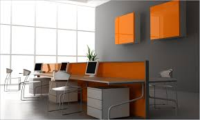 paint colors for office walls. Office:Luxury Office Room Design With Grey Wall Color And Long White Table Ideas Paint Colors For Walls