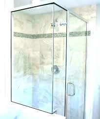 shower tile accent strips glass