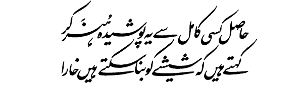 allama iqbal shayari for education