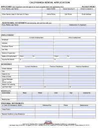 Application Form For Rental Tenancy Application Form Template Tenant Doc Koran Sticken
