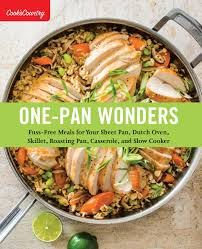 Country Cooks Test Kitchen Information For Media Booksellers One Pan Wonders