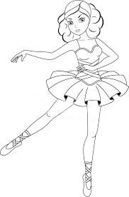 Coloring Pages Ballet 19 1918