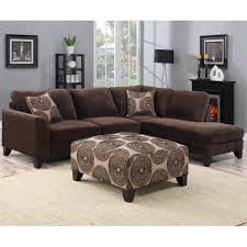 brown sectional sofas. Perfect Sofas Shop Porter Malibu Chocolate Brown Sectional Sofa With Ottoman  Free  Shipping Today Overstockcom 11324281 Intended Sofas