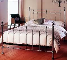 Traditional Bedstead in Nickel ...