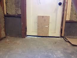 exterior door threshold install. enter image description here exterior door threshold install