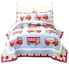 fire truck crib bedding set toddler bed cotton quilt with nursery fire truck crib bedding