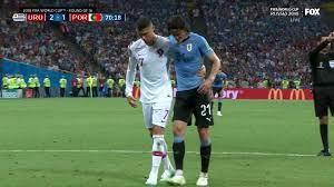 Cavani Inspires Uruguay Vs Portugal; Ronaldo Exits World Cup
