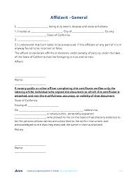 Affidavit Free Form - Cypru.hamsaa.co
