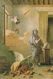 the annunciation c 1765 70 tiepolo painting reion