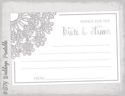 guest book template free lovely wedding advice card template wedding card everywhere