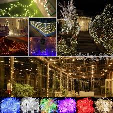 Wedding Tree Lights Details About Christmas Party Led String 10m 100 Lights Outdoor Lights Wedding Courtyard Tree