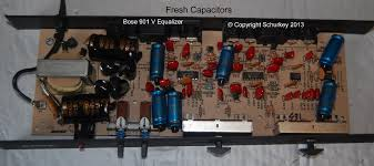 bose 901 equalizer built from scratch audiokarma home audio i put fresh electrolytic caps in my 901v equalizer but i didn t do anything the other caps the silicon or the resistors