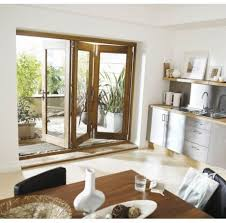 glass door Wooden Folding And Sliding Glass Patio Doors Ideas For ...
